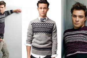 Autumn/Winter Men's Fashion Trend: Fair Isle Knitwear