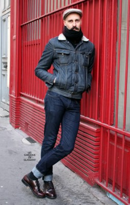 Thomas, Photographed in Paris<br/> Click Photo To See More