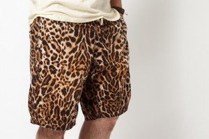 Denim & Supply by Ralph Lauren Leopard Print Shorts