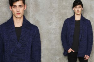 Eleven Paris Tie Up Long Meteor Cardigan