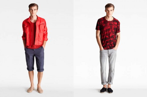 cK Calvin Klein Summer 2012 Men&#8217;s Lookbook