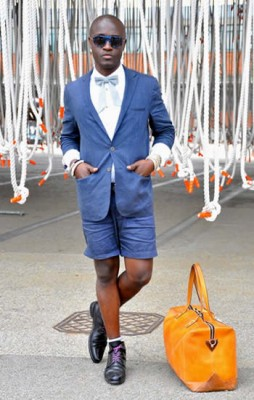 Harvey Ambomo, Photographed in Copenhagen<br/> Click Photo To See More