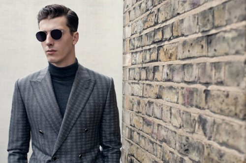 Hardy Amies Signature Eyewear Collection Autumn/Winter 2012 Lookbook
