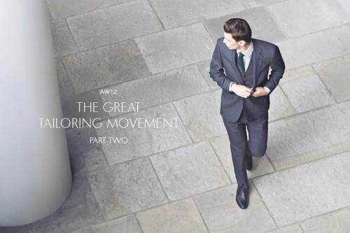 Reiss Autumn/Winter 2012 The Great Tailoring Movement Part 2 Men's Lookbook