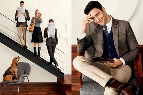 Banana Republic October 2012 Advertising Campaign