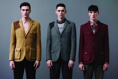 Topman Autumn/Winter 2012 Premium Suiting Collection Men's Lookbook