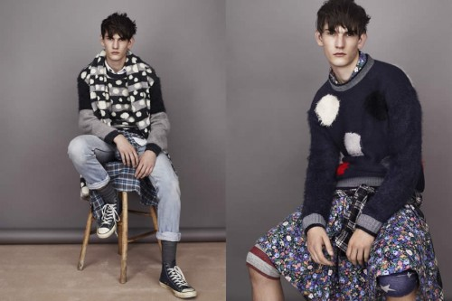 Topman x James Long Collection Autumn/Winter 2012 Men's Lookbook