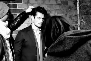 DAVID GANDY FOR MADAME FIGARO BEHIND THE SCENES