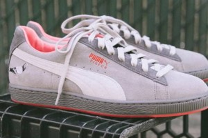 Staple x Puma 'Pigeon' Suede Trainers