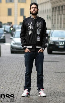 Thiago, Photographed in Milan<br/> Click Photo To See More