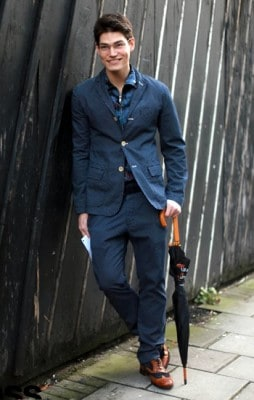 Sam Way, Photographed in London - Click Photo To See More