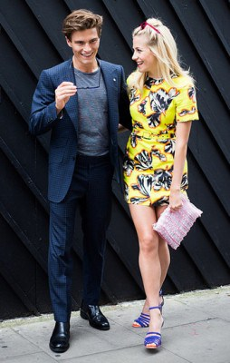 Oliver Cheshire & Pixie Lott, Photographed in London - Click Photo To See More