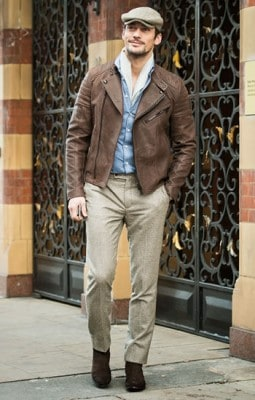 David Gandy, Photographed in London - Click Photo To See More