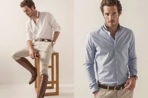 Massimo Dutti Equestrian Spring/Summer 2015 Men's Lookbook