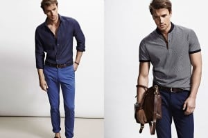 Massimo Dutti Into The Blue Spring/Summer 2015 Lookbook