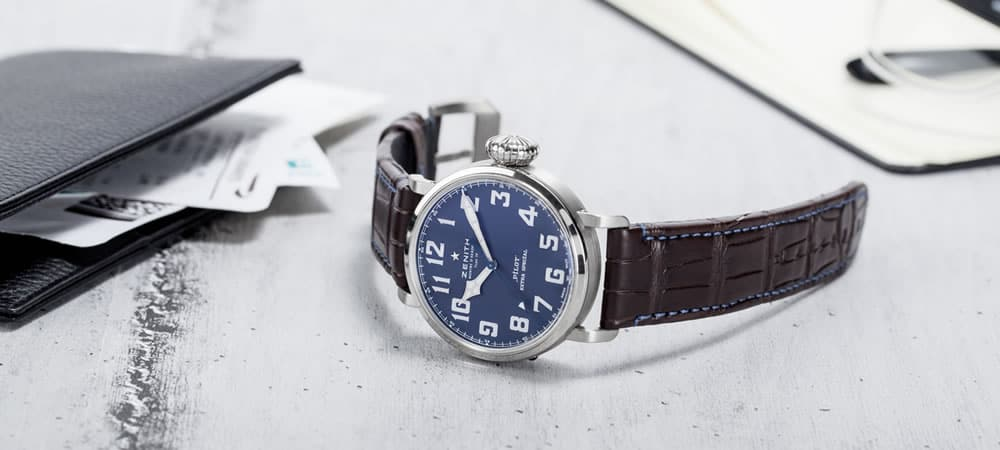 The Watch Gallery Launches Zenith Pilot Extra Special Watch