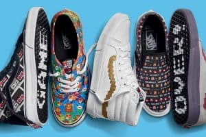 Level Up With Nintendo-themed Vans