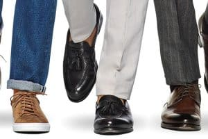 How To Match Your Trousers And Your Shoes
