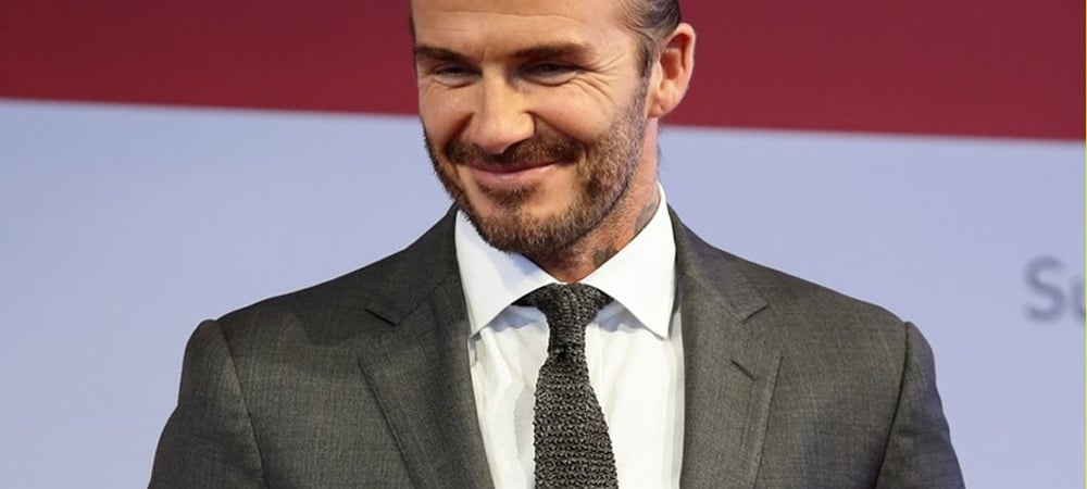 David Beckham Nailed The World's Trickiest Hairstyle
