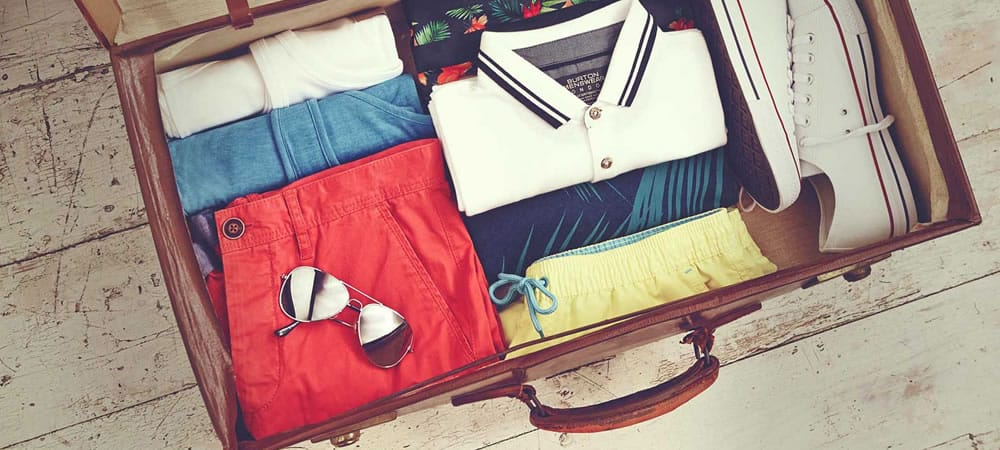 Men's Fashion Basics – Part 53 – What To Pack For The Beach