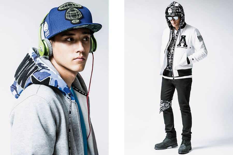 f941b228d55 AAPE By A Bathing Ape Autumn Winter 2014 Men s Lookbook ...