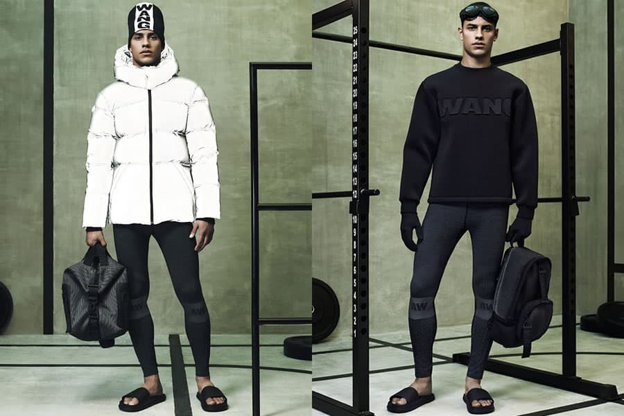 Alexander Wang x H&M AW14 Lookbook