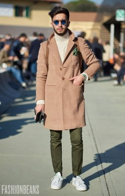 Nicola Radano, Photographed in Pitti Uomo - Click Photo To See More