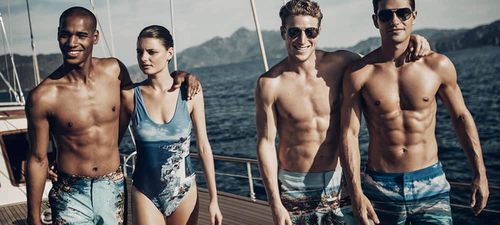 9b0ce3b03e 5 Key Men's Swimwear Trends For Spring/Summer 2019. Men's Fashion Trends