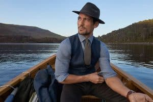 Marks & Spencer x David Gandy Autumn/Winter 2017 Tailoring Campaign