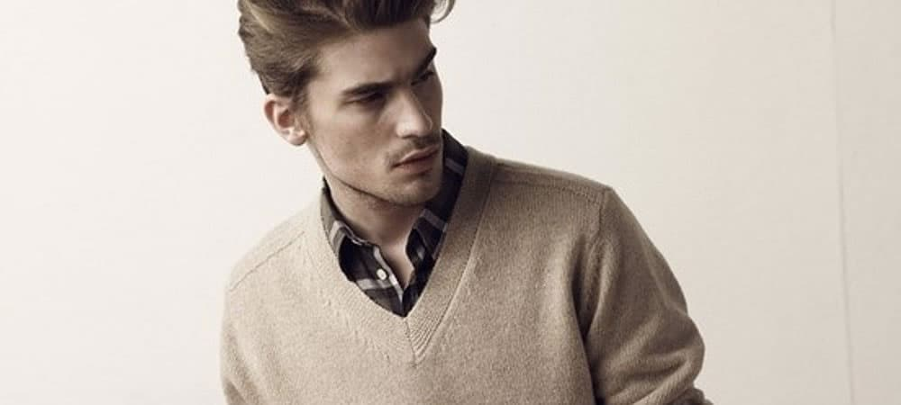 How To Wear A V-Neck Jumper And Look Great
