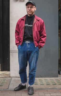 Nick, Photographed in London - Click Photo To See More